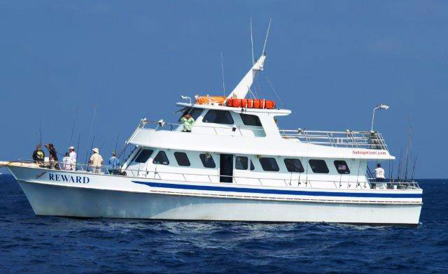 South beach miami florida party boat sportfishing for Party boat fishing